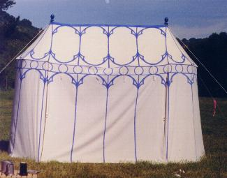 The tent as it looked when new & Dragonwing - Combatting Mildew