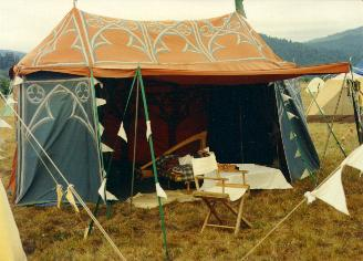 & Dragonwing -Tent Painting 3